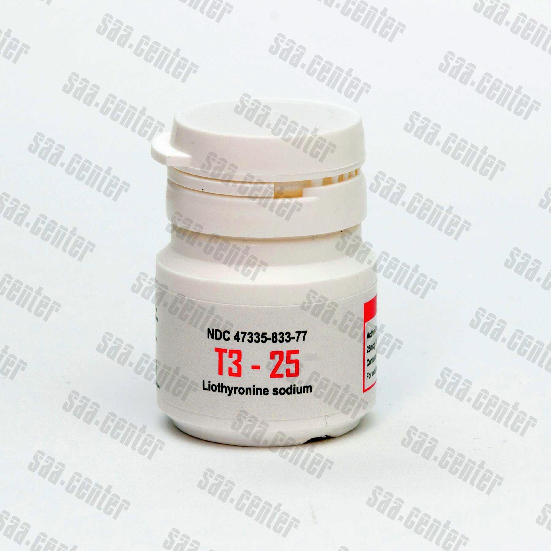 T3 Hormon Tarczycy alphaGEN 50tabs 25mcg - SAA.CENTER